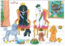 0134 - The Royal Poodle family 2